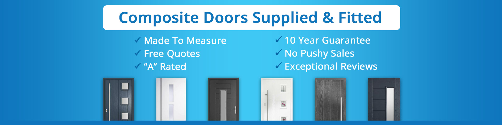 Composite Doors Lanarkshire